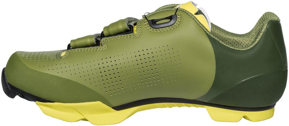 Vert Vaude Chaussures De Pointe Pour L'été Avec Des Hommes De Fermeture Velcro SHmLmD